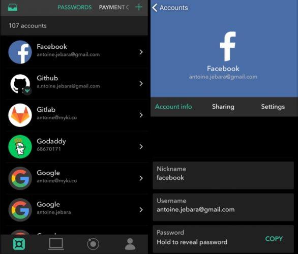 5 ứng dụng quản lí mật khẩu miễn phí tốt nhất