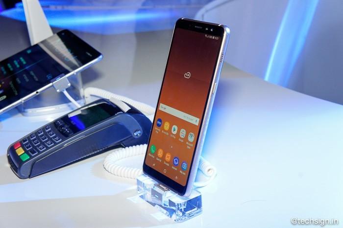 Ảnh thực tế Samsung Galaxy A8 và Galaxy A8+ 2018