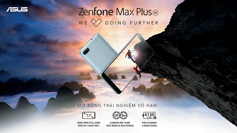 ASUS ra mắt ZenFone Max Plus (M1) giá 5,5 triệu, bán từ 7/1/2018