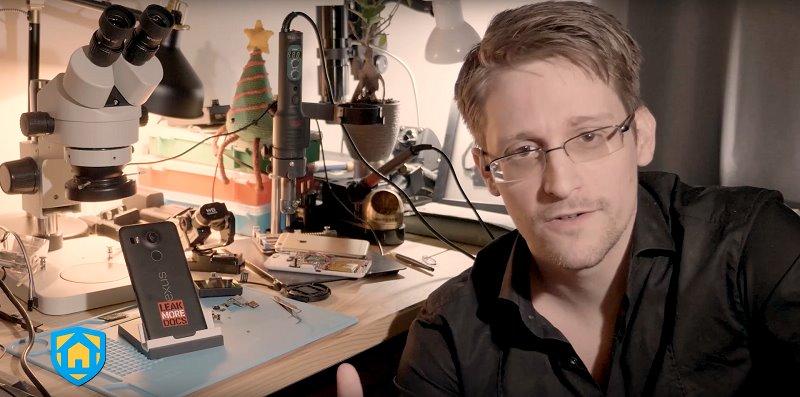Edward Snowden ra mắt ứng dụng giám sát cho điện thoại