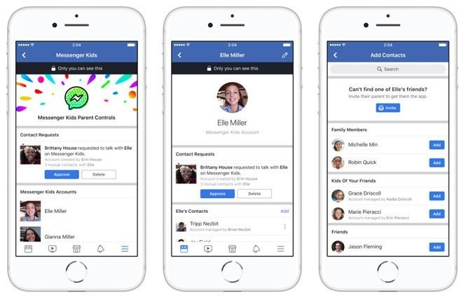 Facebook tung phiên bản nhắn tin Messenger Kids dành cho trẻ nhỏ