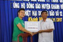 Grab hỗ trợ người dân bị lũ lụt tại Khánh Hoà