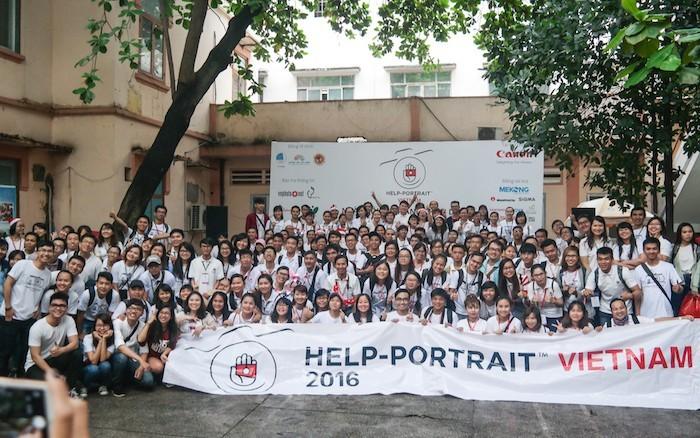 Ngày 9/12 tới sẽ diễn ra Help-Portrait Việt Nam lần thứ 8
