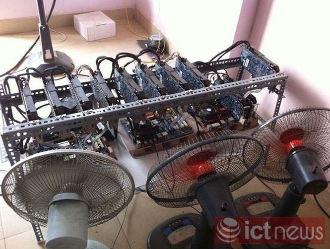 Cuối năm, máy đào Bitcoin, Litecoin từ Trung Quốc ồ ạt đổ về Việt Nam