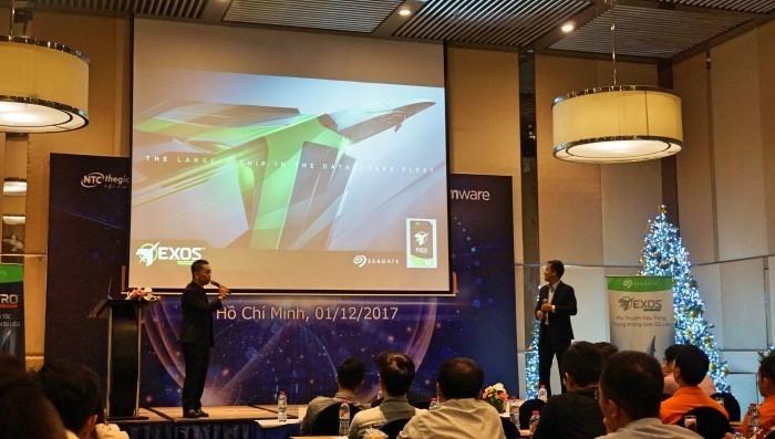 Nhất Tiến Chung cùng Seagate, QNAP, VMware giới thiệu giải pháp HCI