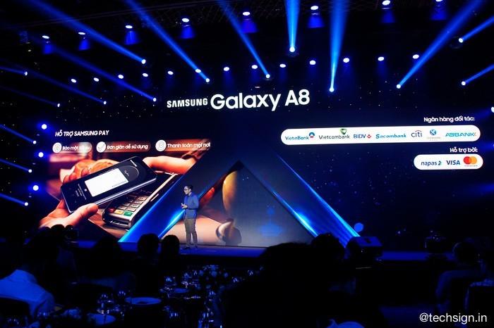 Samsung ra mắt Galaxy A8 và Galaxy A8+ (2018)giá 11 và 13,5 triệu đồng