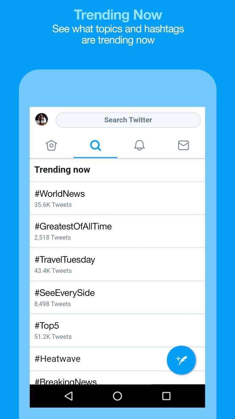 Ứng dụng Twitter Lite giúp tiết kiệm dữ liệu sẽ có sẵn ở 24 quốc gia