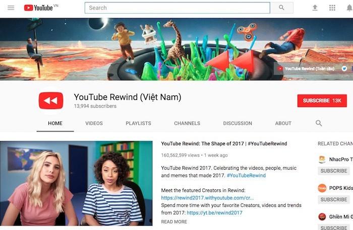 YouTube công bố 10 video nổi bật 2017 tại Việt Nam