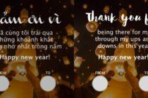 """Zalo tung bộ thiệp """"Lời cảm ơn"""" trước thời điểm chuyển giao năm mới"""
