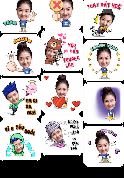 Laban Key ra mắt Zamoji, ứng dụng tạo sticker ảnh cá nhân để chat chit
