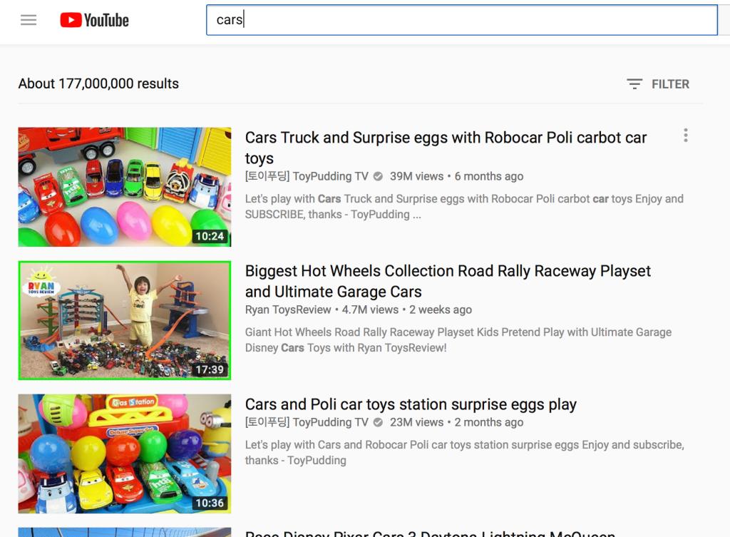 YouTube không phải dành cho trẻ nhỏ
