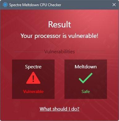 Ashampoo tung công cụ kiểm tra nhanh lỗi Spectre và Meldown cho máy Windows
