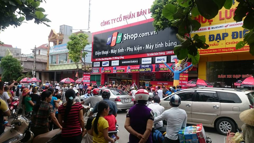 FPT Shop điểm lại tình hình kinh doanh năm 2017