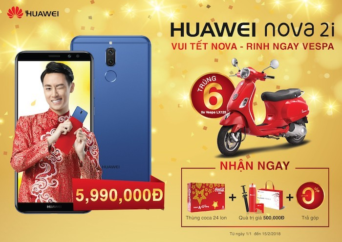 Huawei cập nhật giá ưu đãi cho các dòng smartphone và tablet