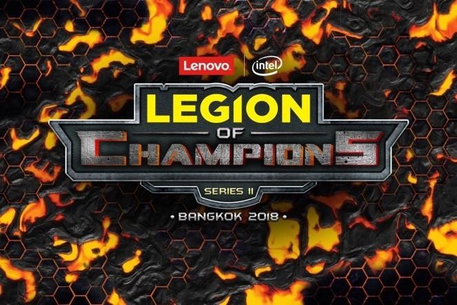 Lenovo khai mạc vòng chung chết Legion of Champions Series II
