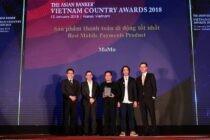 MoMo được trao giải thưởng sản phẩm thanh toán di động tốt nhất Việt Nam
