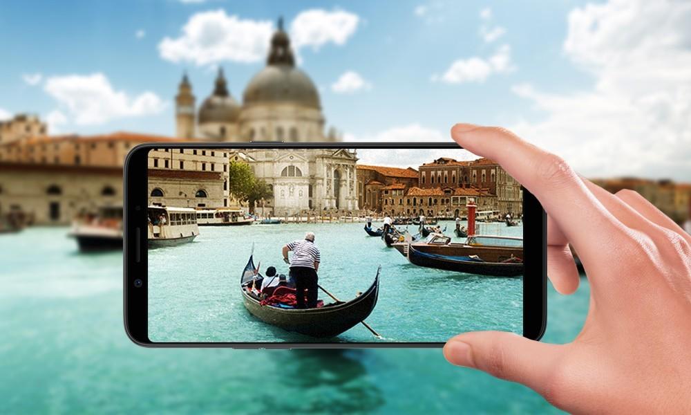 OPPO A83 ra mắt: hai màu, màn hình tràn viền, làm đẹp bằng AI, giá 5 triệu đồng