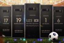 Samsung tặng tuyển thủ U23 Việt Nam Galaxy Note8 và Gear S3 Frontier