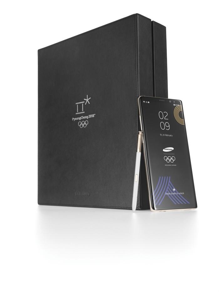 Samsung giới thiệu Galaxy Note8 phiên bản giới hạn Olympic PyeongChang 2018