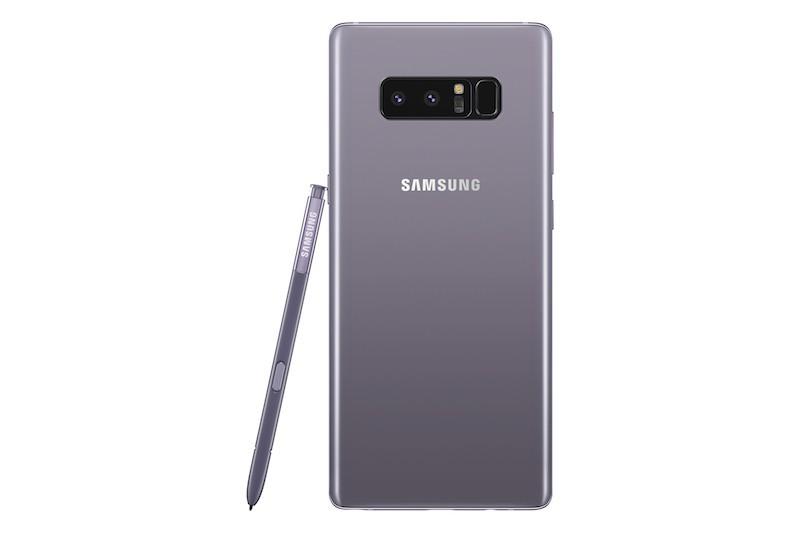 Samsung Galaxy Note8 có thêm bản màu tím khói