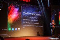 Sharp giới thiệu 4 smartphone mới, sản phẩm cao cấp nhất có màn hình FullView