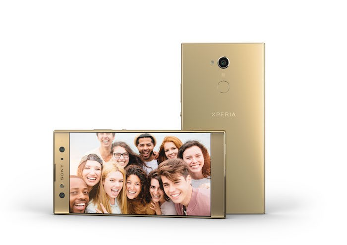 Sony ra mắt 3 smartphone selfie mới tại CES 2018