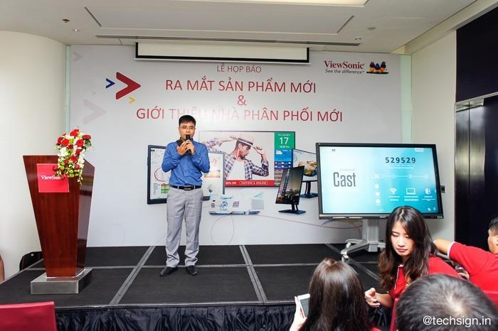 ViewSonic ra mắt các sản phẩm trình chiếu và giới thiệu nhà phân phối mới