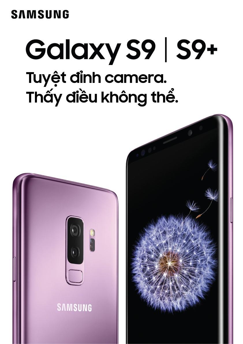 Samsung Galaxy S9 và S9+ ra mắt, bản S9+ có camera kép, có AR