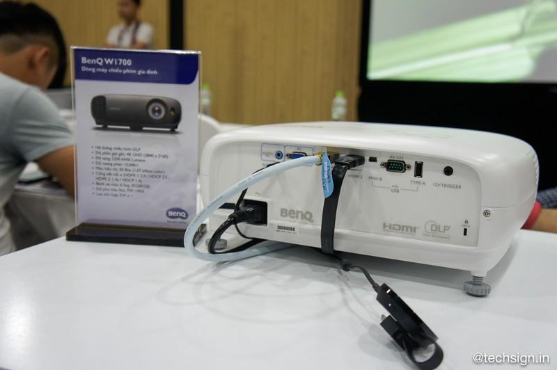 BenQ ra mắt W1700, máy chiếu 4K UHD HDR phục vụ trình chiếu phim tại nhà