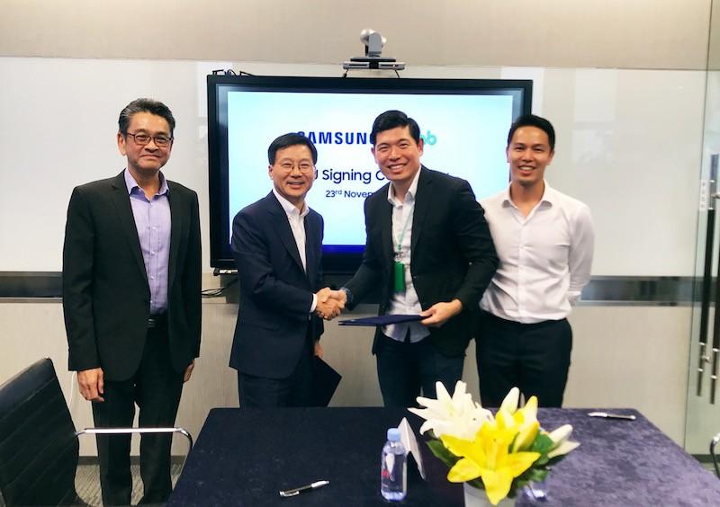 Grab và Samsung hợp tác phát triển giải pháp số ở Đông Nam Á