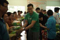 Grab Việt Nam trao tặng hơn 520 triệu đồng, giúp các hộ khó khăn đón Tết