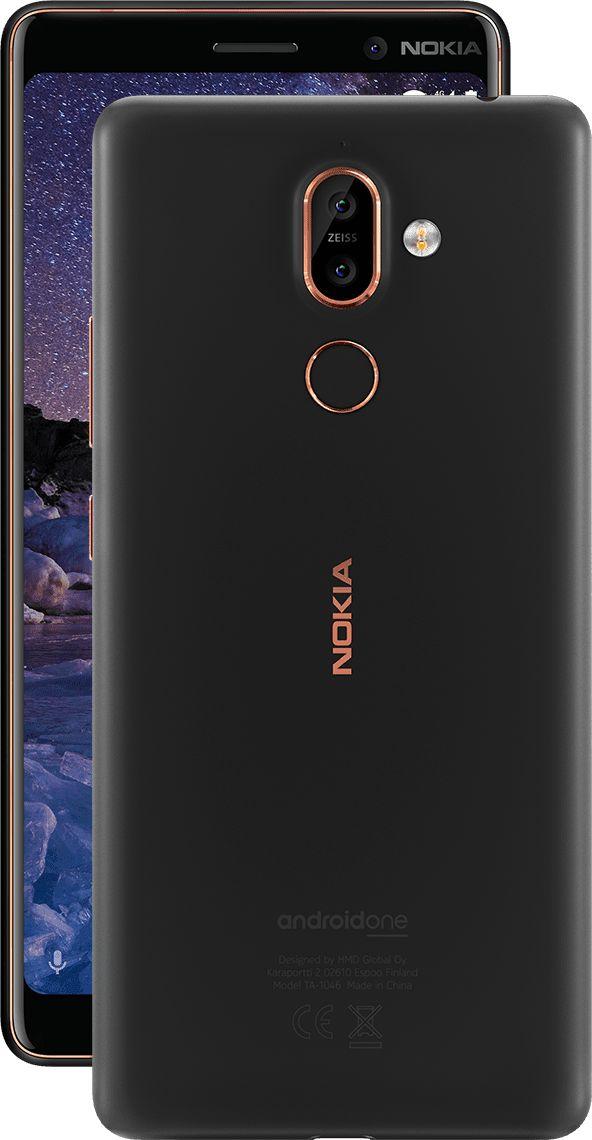 HMD ra mắt Nokia 7 Plus với màn hình 18:9, camera kép, chạy Android One