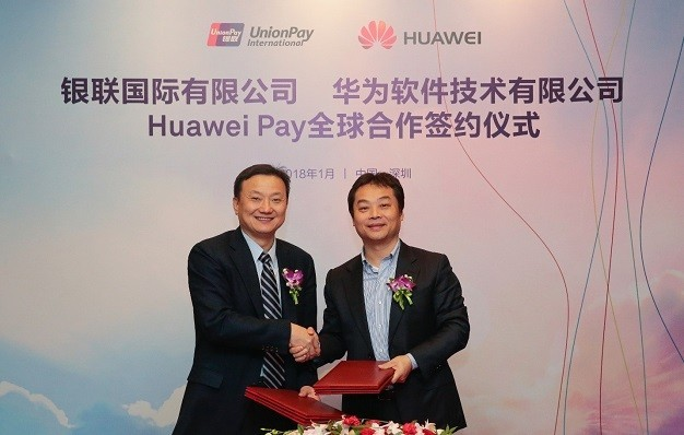 Huawei hợp tác UnionPay International triển khai Huawei Pay trên toàn cầu