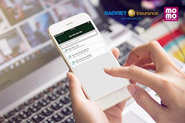 MoMo trở thành kênh bán sản phẩm trực tiếp của Bảo hiểm Bảo Việt