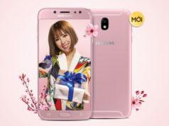 Samsung Galaxy J7 Pro bổ sung phiên bản màu hồng