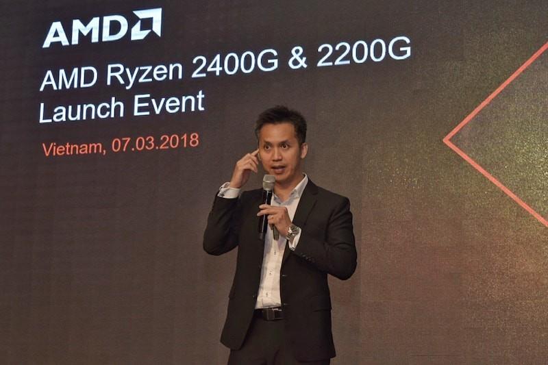 AMD ra mắt APU Ryzen 3 2200G và Ryzen 5 2400G