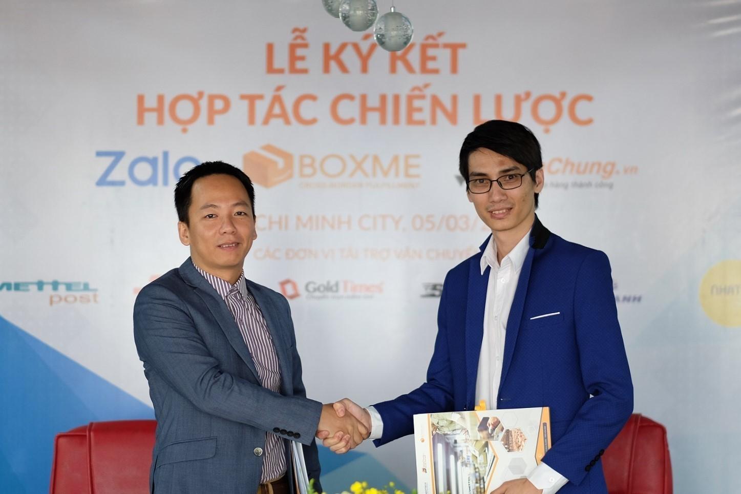 BoxMe, Shipchung chính thức tích hợp vào hệ thống Zalo Shop
