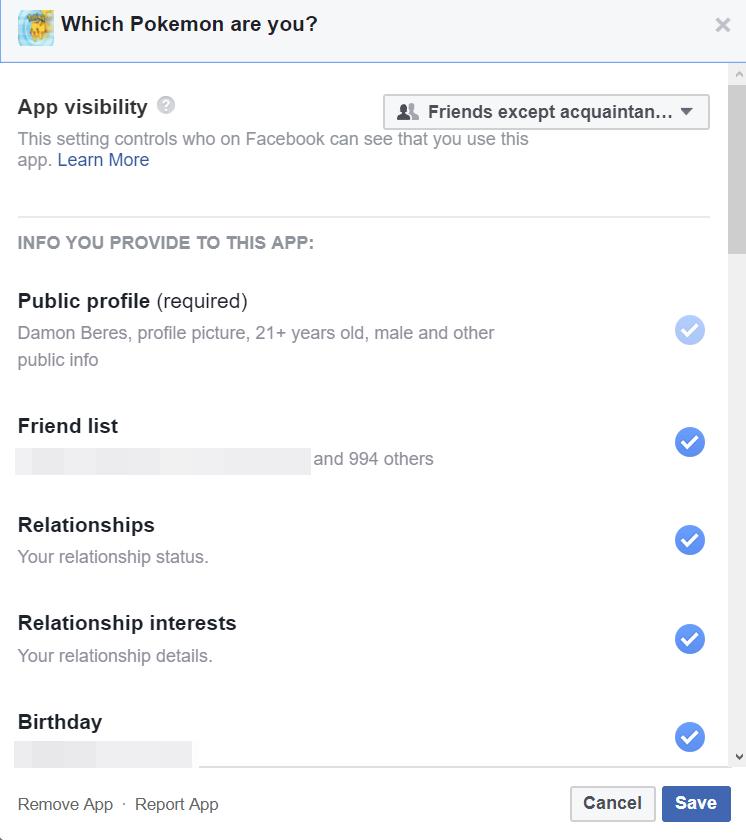 Bằng cách nào để xem tất cả các ứng dụng lạ có thể truy cập vào dữ liệu của bạn trên Facebook