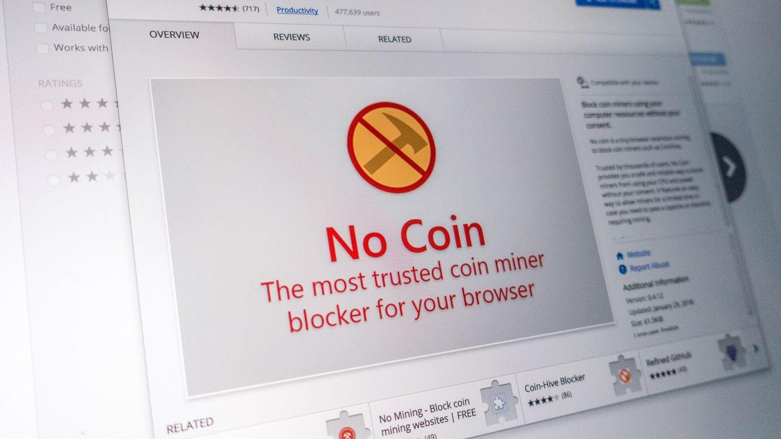 """Cách chặn website """"mượn"""" máy tính của bạn để đào tiền điện tử"""
