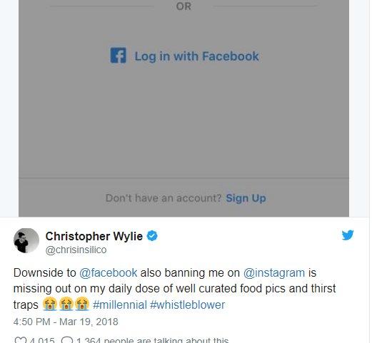 """Christopher Wylie - """"Ngôi sao"""" đang nổi nhờ tố cáo Facebook là ai?"""
