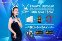 Đặt trước Huawei Nova 3e, nhận sạc dự phòng Energizer 10.000mAh tại FPT Shop