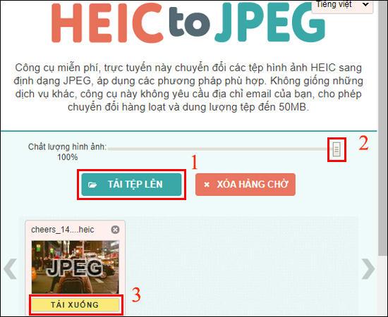 Cách mở và chuyển đổi HEIC sang JPG, PNG
