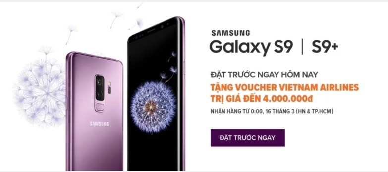 Lazada ra mắt dịch vụ trải nghiệm Samsung Galaxy S9 và S9+ với 30 ngày đổi trả4