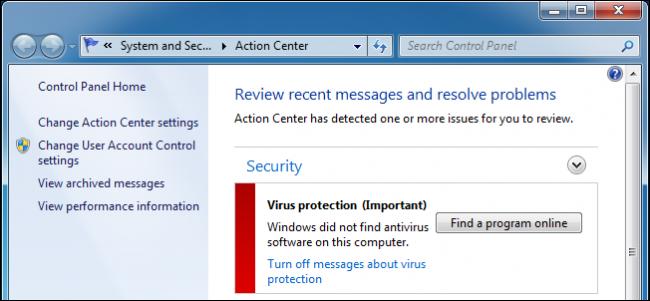 Microsoft chặn cập nhật bảo mật trên Windows 7 nếu máy bạn không có Antivirus