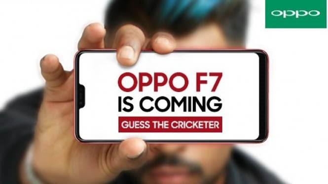 Lộ diện Oppo F7 chuyên selfie có thiết kế 'tai thỏ' như iPhone X