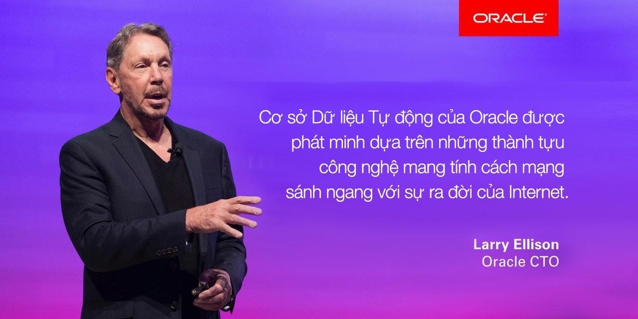 Oracle ra mắt Cơ sở dữ liệu tự động đầu tiên trên thế giới