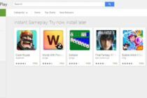 Play Instant: Chơi game không cần cài đặt trên Google Play