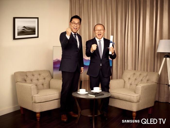 Samsung chọn huấn luyện viên Park Hang Seo là đại sứthương hiệu tại Việt Nam