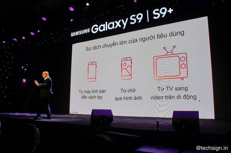 Samsung mở hội thảo Kỷ nguyên giao tiếp bằng hình ảnh