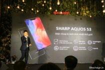 Sharp Aquos S3 chính thức ra mắt, giá 8,99 triệu đồng